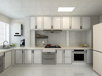 富裕型120平米三室一厅现代简约风格厨房设计图