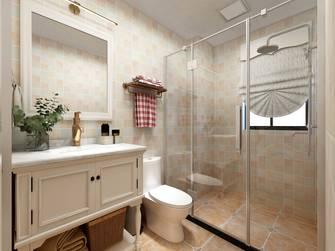 80平米三室两厅美式风格卫生间图