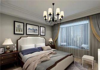 130平米三室一厅美式风格卧室装修案例
