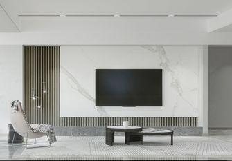 豪华型140平米三室两厅混搭风格客厅装修图片大全