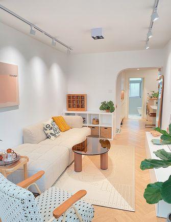 经济型90平米三室两厅北欧风格客厅装修案例