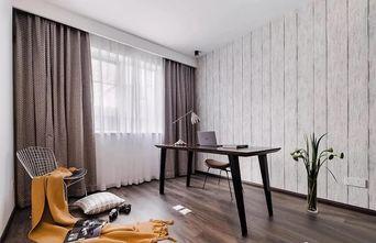 富裕型140平米四室一厅工业风风格书房装修效果图