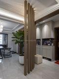 富裕型140平米四室两厅中式风格玄关图片