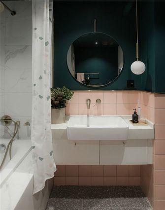 经济型60平米公寓英伦风格卫生间图片大全