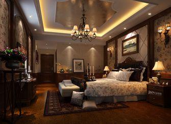 140平米四美式风格卧室图片