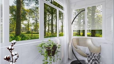 豪华型140平米三室两厅欧式风格阳台装修效果图