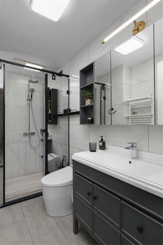 经济型60平米公寓北欧风格卫生间图片大全