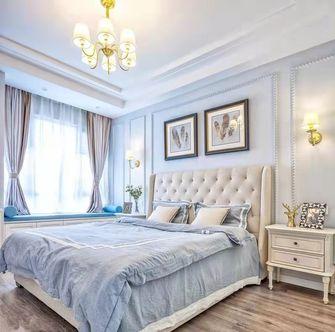 豪华型110平米三室两厅美式风格卧室装修案例