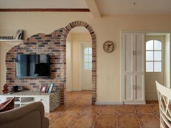 富裕型130平米三室两厅田园风格客厅效果图