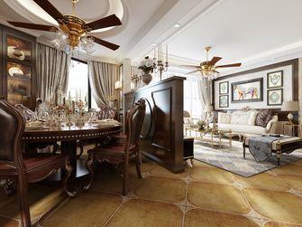豪华型140平米三美式风格餐厅图