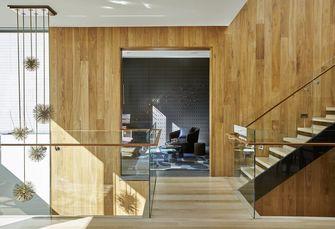 140平米田园风格楼梯间效果图