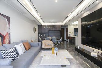20万以上140平米三室两厅轻奢风格客厅图