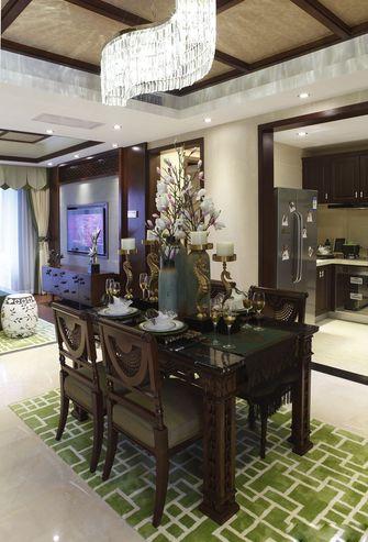 10-15万120平米三室一厅东南亚风格餐厅图片大全