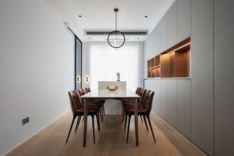 140平米三室两厅公装风格餐厅图片大全