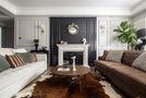 富裕型90平米混搭风格客厅设计图