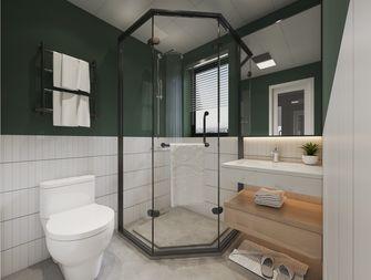 富裕型120平米三室两厅北欧风格卫生间设计图