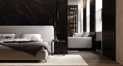 20万以上100平米三室两厅现代简约风格卧室设计图