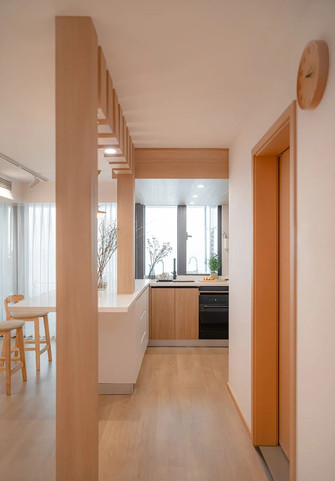 20万以上120平米复式日式风格厨房装修效果图