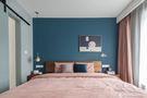 经济型90平米三室一厅北欧风格卧室效果图