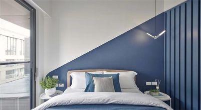 经济型50平米一室一厅现代简约风格卧室图片