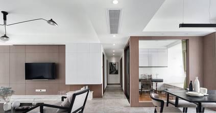 130平米三北欧风格客厅装修案例