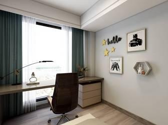 10-15万90平米三室三厅现代简约风格书房欣赏图