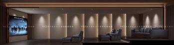 140平米别墅混搭风格影音室装修案例