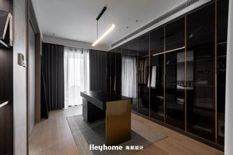 豪华型140平米四室一厅工业风风格衣帽间设计图