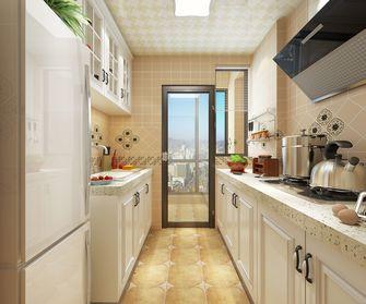 100平米美式风格厨房设计图
