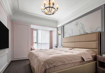 富裕型130平米三室两厅美式风格卧室图片