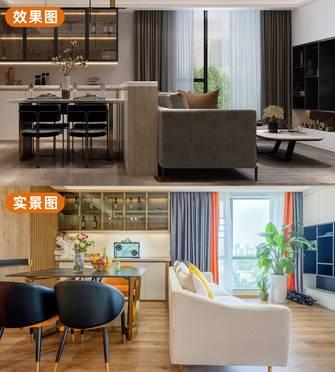 10-15万90平米三室两厅日式风格餐厅装修案例