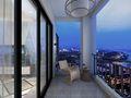 10-15万90平米三室两厅北欧风格阳台装修效果图