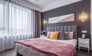 10-15万90平米三室一厅轻奢风格卧室图片大全