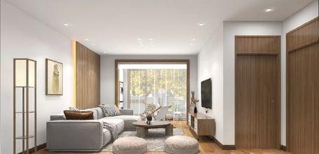 豪华型120平米三室三厅日式风格客厅图片大全