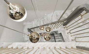 豪华型140平米别墅轻奢风格楼梯间欣赏图
