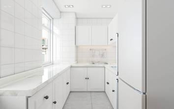 10-15万120平米三室两厅法式风格厨房欣赏图