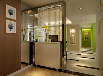 15-20万110平米三室一厅现代简约风格走廊装修效果图