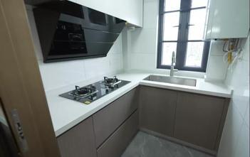15-20万120平米三室三厅现代简约风格厨房装修案例