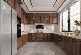 140平米公寓中式风格厨房设计图