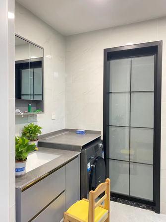 60平米一居室混搭风格卫生间图片