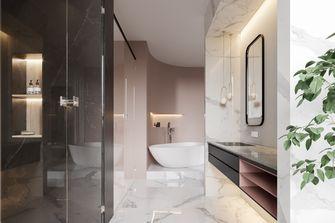 130平米三室两厅混搭风格卫生间设计图