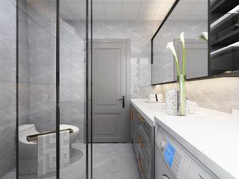 80平米三室两厅美式风格卫生间图片大全