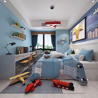 90平米一室一厅地中海风格卧室图