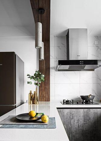 富裕型140平米四室一厅混搭风格厨房图