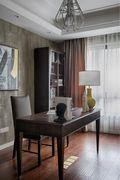 10-15万120平米三室两厅美式风格书房装修图片大全