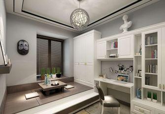 10-15万90平米三现代简约风格书房设计图