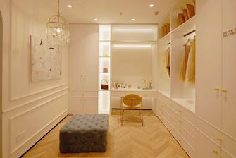 50平米一室一厅法式风格衣帽间设计图