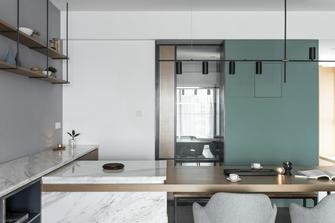 10-15万90平米三室三厅北欧风格厨房装修图片大全