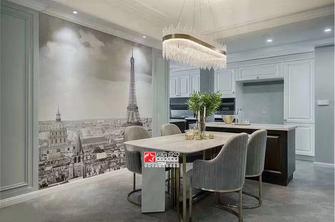 110平米三室一厅地中海风格餐厅装修图片大全