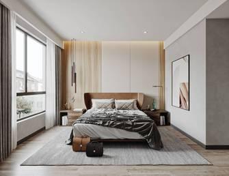 富裕型120平米三室两厅港式风格卧室装修效果图